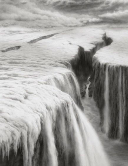 Cara Menggambar Sketsa Pemandangan Air Terjun