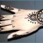 Contoh Gambar Henna Tangan Sederhana Terbaru