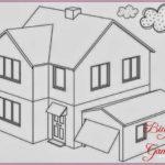Contoh Gambar Sketsa Rumah Minimalis