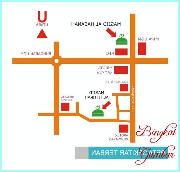 Denah Masjid Kampus Ugm