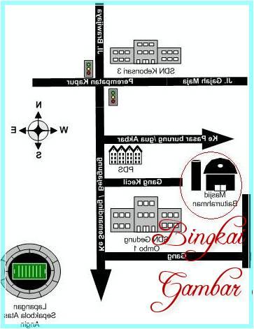 Denah Masjid Raya Baiturrahman