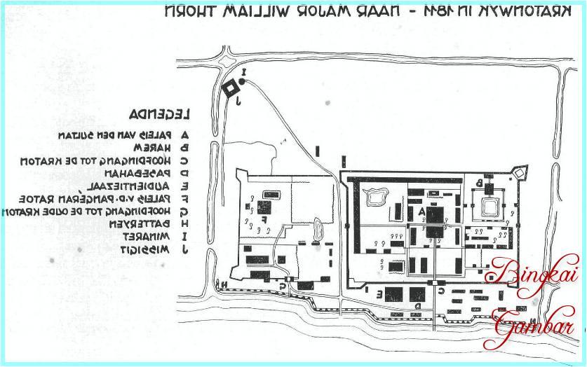 Denah Masjid Raya Sumatera Barat