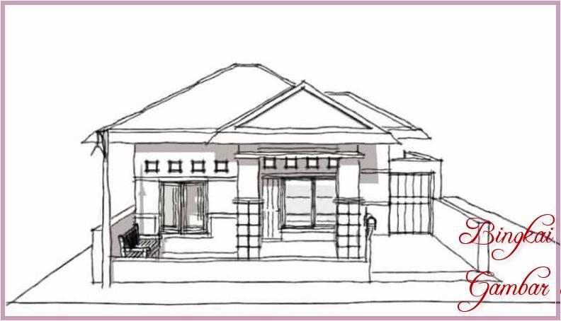 Gambar Dan Sketsa Rumah Sederhana
