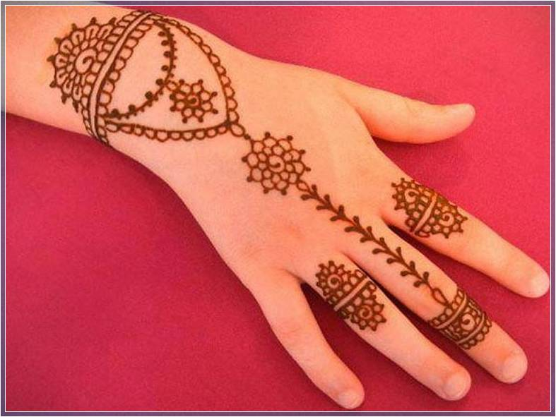 Gambar Henna Paling Sederhana Terbaru