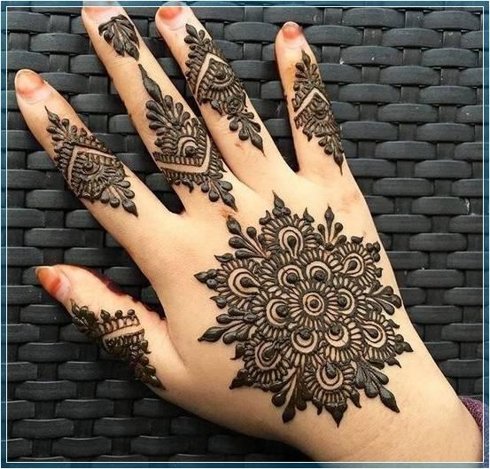 Gambar Henna Pengantin Sederhana Terbaru