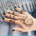 Gambar Henna Sederhana Dan Simple Terbaru