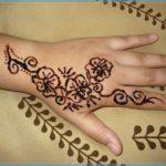 Gambar Henna Simple Dan Cantik Terbaru