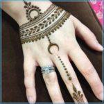 Gambar Henna Simple Pengantin Terbaru