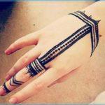 Gambar Henna Simple Sekali Terbaru