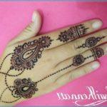 Gambar Henna Simple Untuk Jari Terbaru