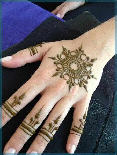 Gambar Henna Simple Untuk Pemula Terbaru Bingkaigambar Com