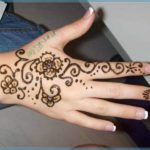 Gambar Lukisan Henna Sederhana Terbaru