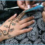 Gambar Motif Henna Tangan Sederhana Terbaru