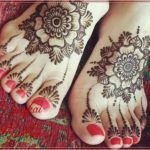 Gambar Pacar Henna Di Kaki Terbaik
