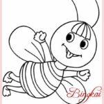 Gambar Sketsa Binatang Serangga