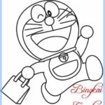 Gambar Sketsa Doraemon Termudah