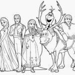 Gambar Sketsa Frozen Terbaru