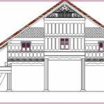Gambar Sketsa Rumah Adat Aceh