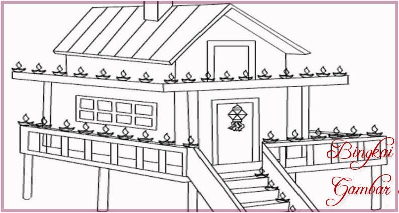 400 Gambar Kartun Rumah Adat Jambi Terbaik