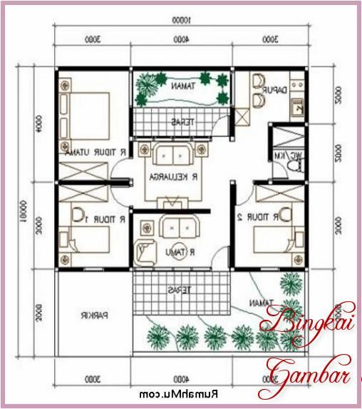 Gambar Sketsa Rumah Bagian Dalam