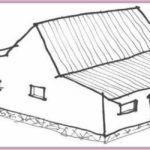 Gambar Sketsa Rumah Betawi