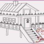 Gambar Sketsa Rumah Cantik