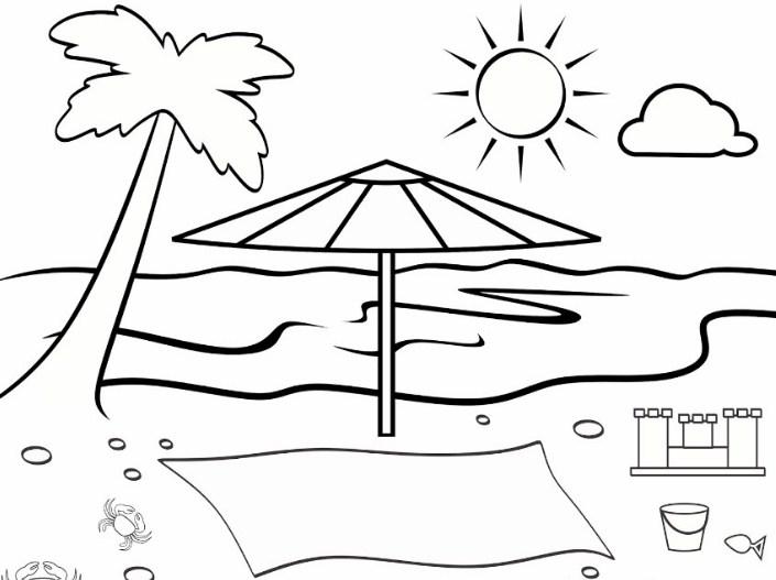 Gambar Sketsa Sederhana Dan Mudah