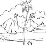 Gambar Sketsa Sederhana Keren