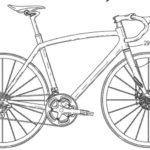 Gambar Sketsa Sepeda Gunung