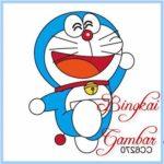 Gambar Sketsa Warna Doraemon