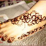 Gambar Tato Henna Di Kaki Terbaik