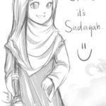 Kumpulan Gambar Sketsa Muslimah