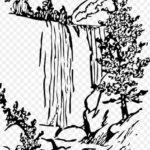 Sketsa Air Terjun Yang Mudah Dibuat