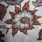 Sketsa Batik Bunga Sepatu