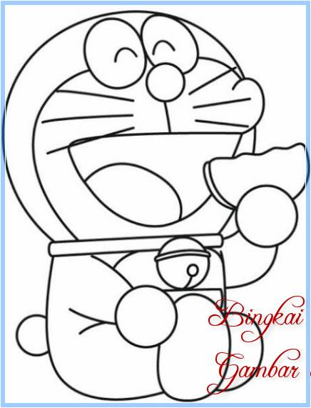 Sketsa Doraemon Dan Dorami