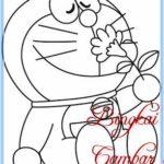 Sketsa Gambar Boneka Doraemon Bingkaigambarcom
