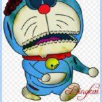 Sketsa Doraemon Seram