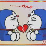 Sketsa Doraemon Tampak Samping