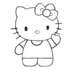 Sketsa Gambar Hello Kitty Yang Mudah