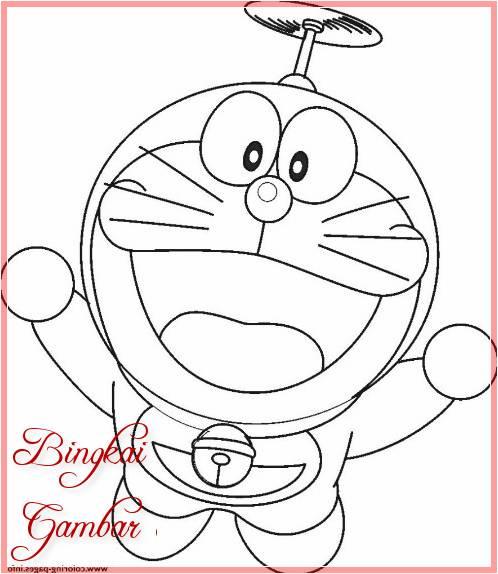 Sketsa Gambar Kartun Doraemon
