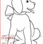 Sketsa Hewan Anjing Terbaru