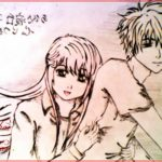 Sketsa Kartun Jepang Romantis