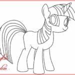 Sketsa Kartun Kuda Poni
