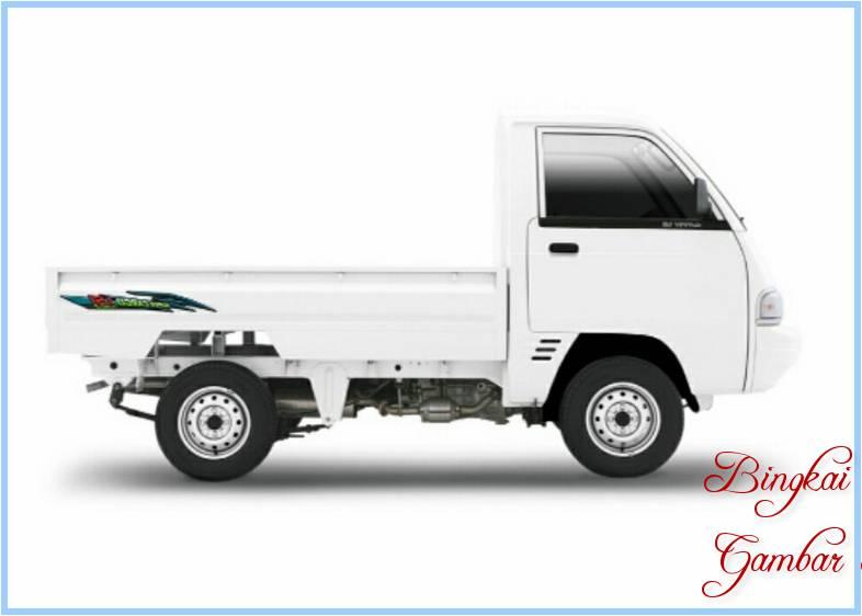 Sketsa Mobil Carry