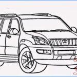 Sketsa Mobil Fortuner