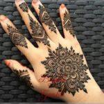 contoh gambar henna cincin
