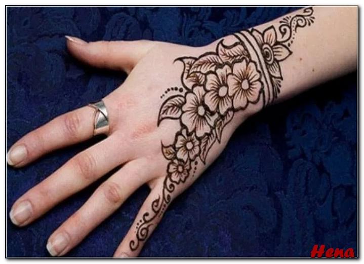30 Gambar Henna Lengan Tercantik Kupu Dan Bunga Bingkaigambar Com