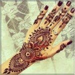 contoh motif henna india