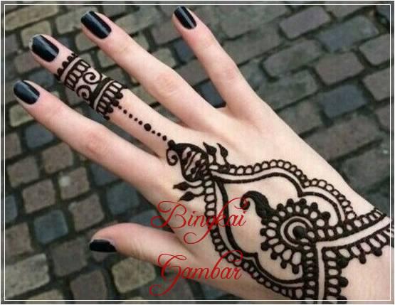 gambar cincin dari henna
