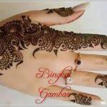gambar henna berbentuk cincin